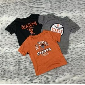 San Francisco Giants Set of 3 Toddler T-Shirts 2T